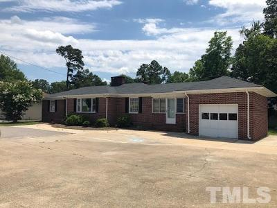 Harnett County Commercial For Sale: 1005 W Cumberland Street