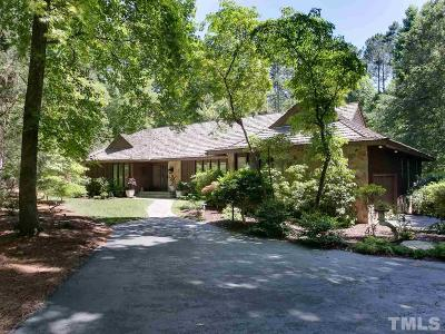 Raleigh Single Family Home Contingent: 10736 Trego Trail