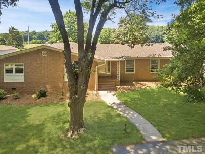 Orange County Single Family Home For Sale: 1400 Brookhollow Road