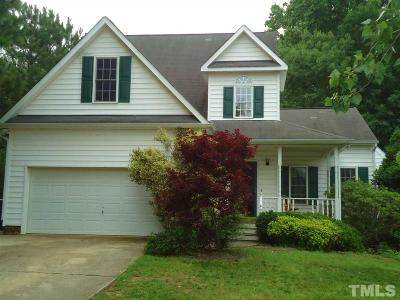 Apex Single Family Home Contingent: 201 Kelly West Drive