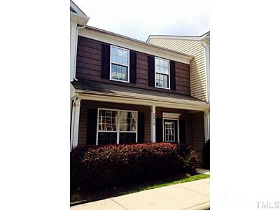 Wake County Townhouse For Sale: 8215 Clasara Circle
