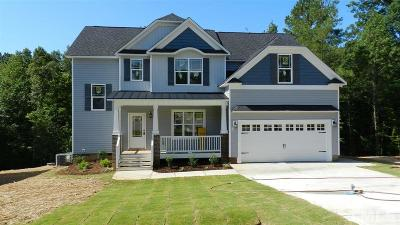 Garner Single Family Home For Sale: 9012 Cabin Creek Court