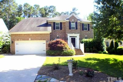 Cary Single Family Home Contingent: 131 Trinity Grove Drive