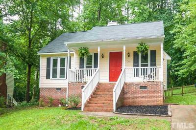 Wake Forest Single Family Home Contingent: 313 Amherst Creek Drive