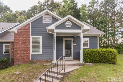 Knightdale Townhouse Contingent: 601 Pine Forest Trail