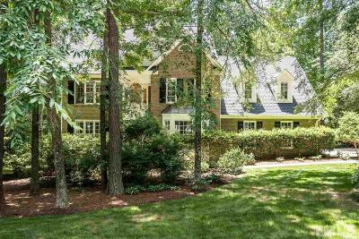 Chapel Hill Single Family Home For Sale: 4003 Sweeten Creek Road