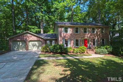 Cary Single Family Home Contingent: 442 Kevin Way