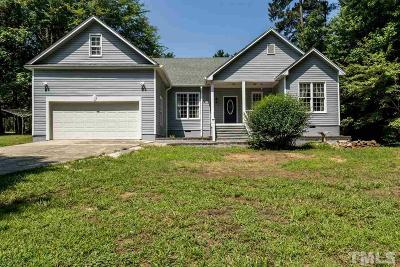 Louisburg Single Family Home For Sale: 336 Shawnee Drive