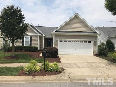 Fuquay Varina Single Family Home Contingent: 2109 Fawn Meadow Way