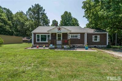 Wake Forest Single Family Home Contingent: 4129 Purnell Road