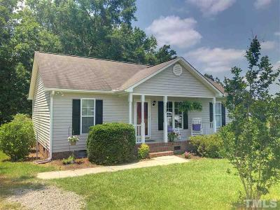 Zebulon Single Family Home For Sale: 113 Belgium Place