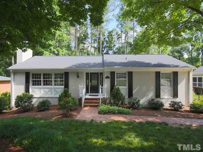 Raleigh Single Family Home For Sale: 219 W Drewry Lane