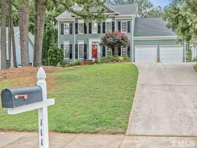 Cary Single Family Home For Sale: 111 New Rail Drive