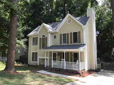 Wake County Single Family Home Pending: 104 Forestchase Court
