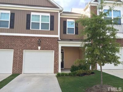 Cary Townhouse For Sale: 707 Silver Stream Lane