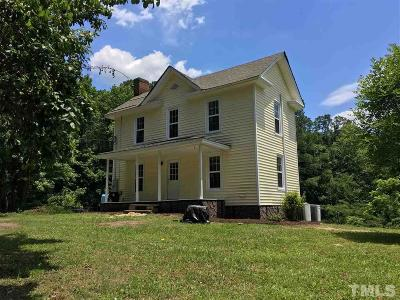 Siler City Single Family Home For Sale: 3865 Creekwood Road