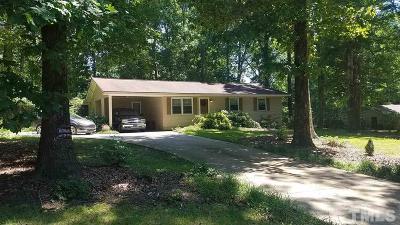 Garner Single Family Home For Sale: 6537 Nc 42 Highway