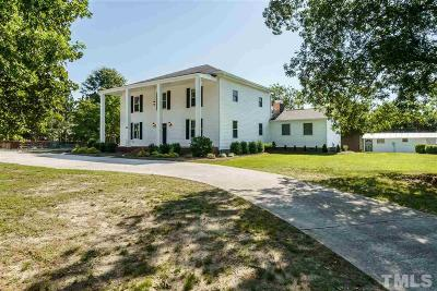 Harnett County Single Family Home Contingent: 560 Purfoy Road