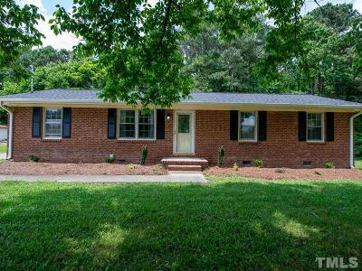 Zebulon Single Family Home Contingent: 1700 Green Pace Road