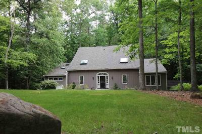 Durham Single Family Home For Sale: 3522 Ridge Road
