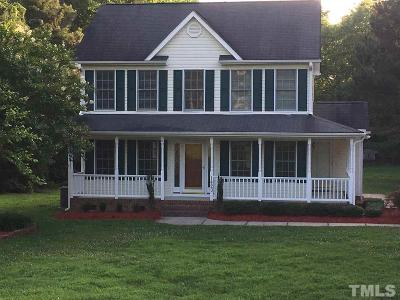 Wendell Single Family Home Pending: 1420 Pleasants Road