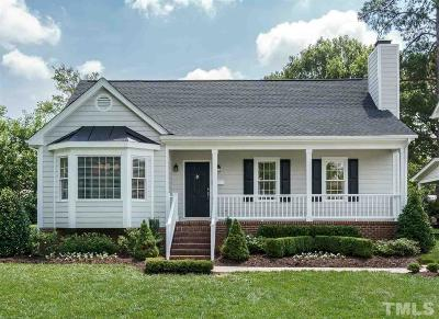 Raleigh Single Family Home Pending: 1816 Ridley Street