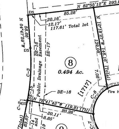Residential Lots & Land Contingent: 1717 Castling Court