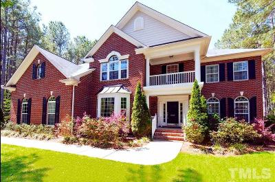 Wake Forest Single Family Home For Sale: 5605 Pine Rock Court