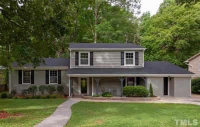 Cary Single Family Home Contingent: 1324 Helmsdale Drive