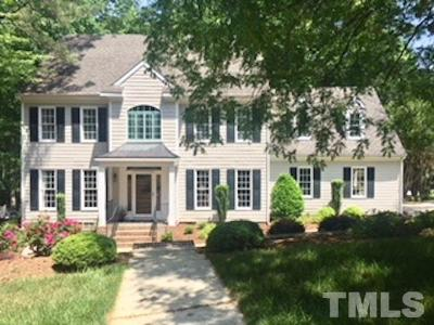 Raleigh Single Family Home For Sale: 6300 Bayswater Trail