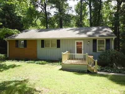 Chapel Hill Single Family Home For Sale: 427 Ridgefield Road