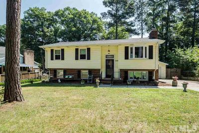 Raleigh Single Family Home For Sale: 6216 Lewisand Circle