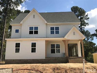 Fuquay Varina Single Family Home Pending: 2504 Plowridge Road #Lot 393