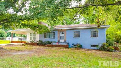 Raleigh Single Family Home For Sale: 524 Woodland Road
