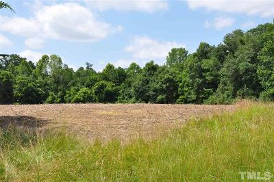Chatham County Residential Lots & Land For Sale: Silk Hope Liberty Road