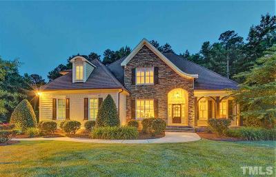 Raleigh Single Family Home For Sale: 3744 Westbury Lake Drive