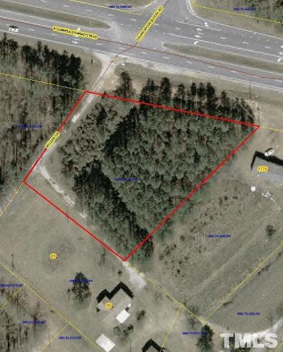 Harnett County Commercial Lots & Land For Sale: 1800 E Cornelius Harnett Boulevard