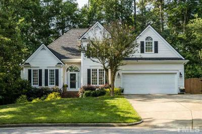Cary Single Family Home Contingent: 102 Mixedwood Court