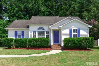 Angier Single Family Home Pending: 165 Winwood Drive