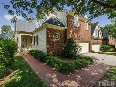 Raleigh Townhouse For Sale: 1401 Canfield Court