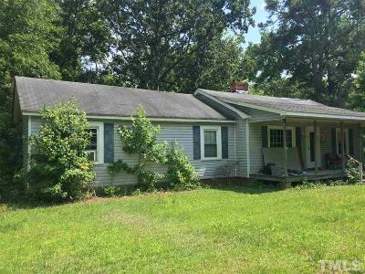 Harnett County Single Family Home For Sale: 380 Bunnlevel Erwin Road