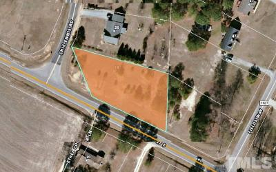 Harnett County Residential Lots & Land For Sale: 16 Chic Ennis Road