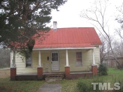 Johnston County Single Family Home For Sale: 101 S Church Street
