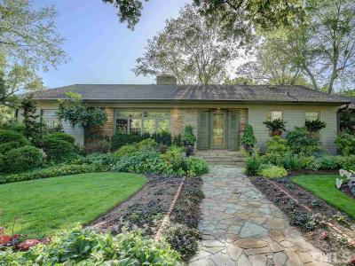 Raleigh Single Family Home For Sale: 1801 McDonald Lane