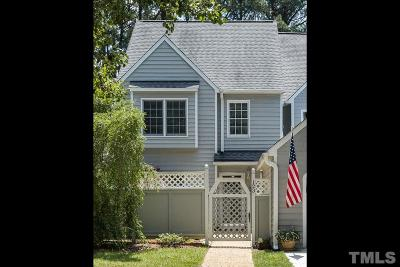 Cary Townhouse Contingent: 123 Spring Cove Drive