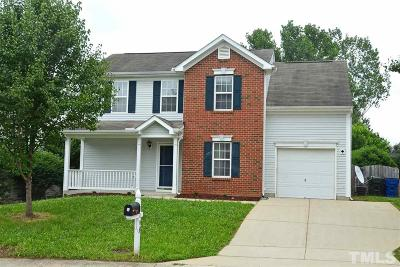 Raleigh Single Family Home Contingent: 4408 Whatley Lane