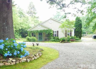 Franklinton Single Family Home Pending: 3669 Bruce Garner Road