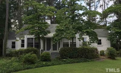 Sanford NC Single Family Home For Sale: $145,500