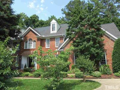 Raleigh Single Family Home For Sale: 708 Porchlamp Court