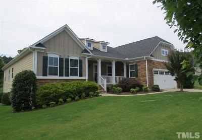 Cary Single Family Home Contingent: 237 Hilliard Forest Drive
